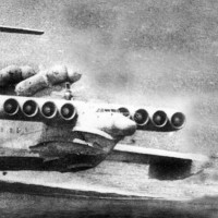 Lun Soviet Ekranoplan Ground-Effect Ship